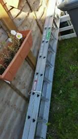 Extensible ladder
