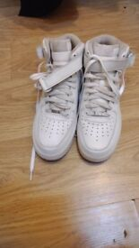 New and unworn Nike White Air Force One Size 11