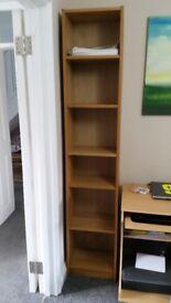 BILLY Bookcase Oak veneer Ikea