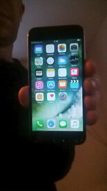 iPhone 6, black/silver with box, unlocked to all networks.