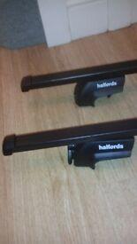 halfords adjustable roof bars