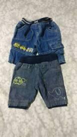 2 x Newborn jeans