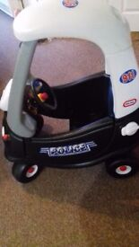 Excellent condition little tikes police car