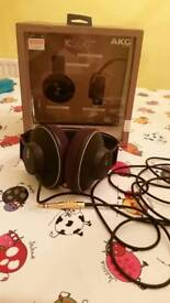 AKG K550MKII closed back reference class headphones