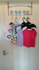 10 girls tops size 18-24 months / 1.5-2 years