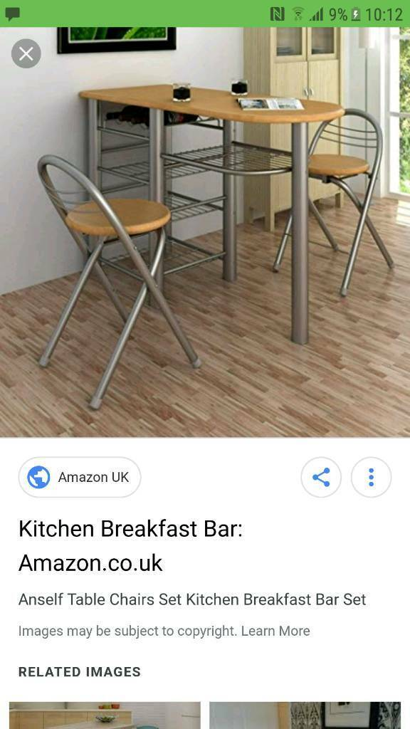 Superb Breakfast Bar And Stool In Pendlebury Manchester Gumtree Pdpeps Interior Chair Design Pdpepsorg