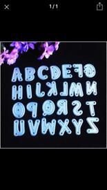 Sizzix big shot compatible thinlit letters
