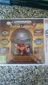 Professor Layton and the Azran Legacy game for 3DS