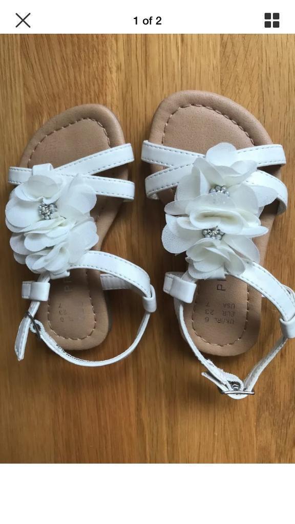 8c3187aabf09c Toddler girls sandals size 6 | in Plymouth, Devon | Gumtree