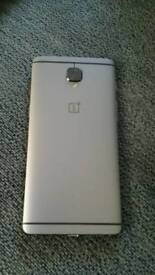 One plus 3t 128gb phonefor sale