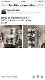 Honda cb engine 750/900