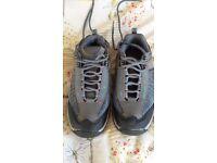 Ladies Mountain Warehouse walking shoes.