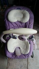 Chicco Mia baby bouncer lilac