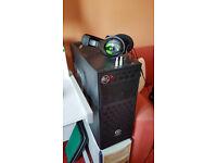 Desktop PC, i5 6600 Skylake, 34 Inch Ultrawide Monitor + Geforce GTX 1080 Graphics Card