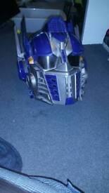 Optimus Prime voice changer helmet