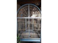 Parrot cage aluminium kings