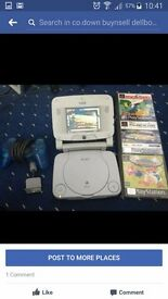 Ps1 playstation 1bundle with detachable screen