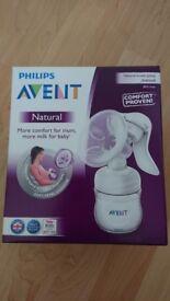 Philips avent natural manual breast pump