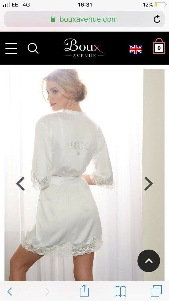 Boux Avenue Bride Dressing Gown In Southside Glasgow Gumtree