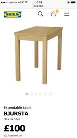 Extendable ikea dining table