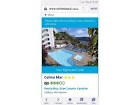 For sale one week holiday