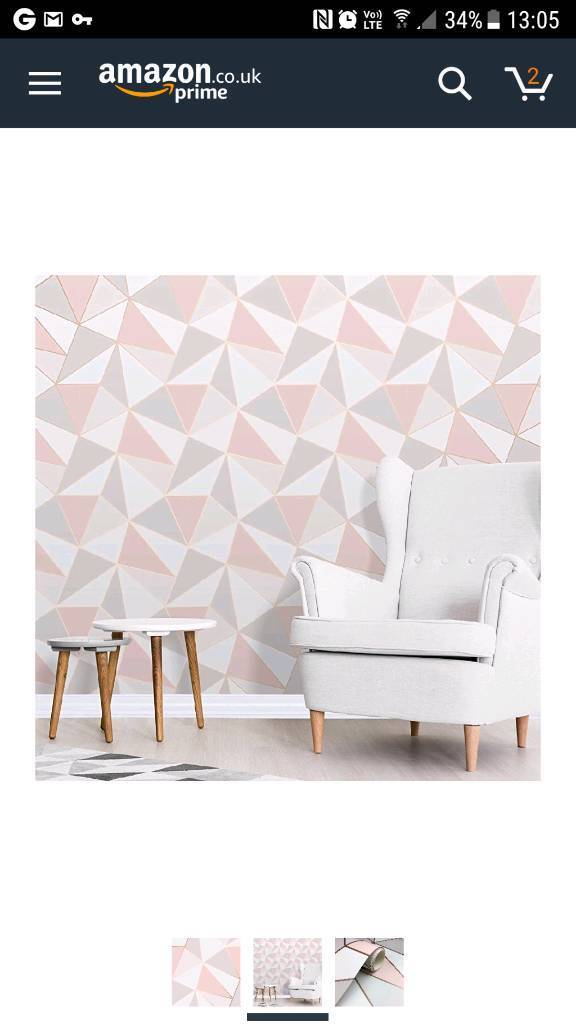 Apex Heavyweight Geometric Pattern Wallpaper