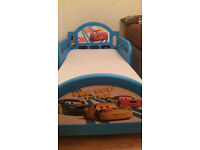 Toddler cars bed