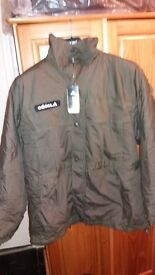 New Men,s Original Adidas congo hood green Jacket with tags RRP £149