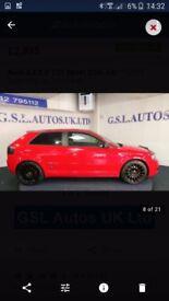Audi A3 sline automatic 2ltr d