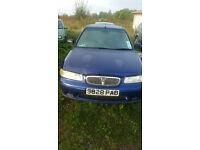 Rover 400 2.0td 77kw 105BHP 1998 Blue
