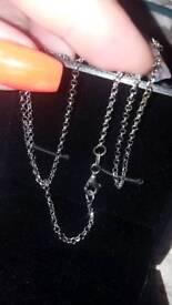 Brand new hallmarked 925 silver necklace