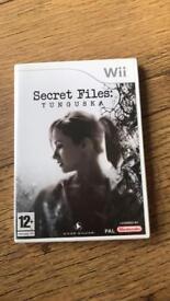 Secret files Tunguska Wii