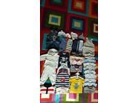baby boy clothes bundle 0-3 months 34x items