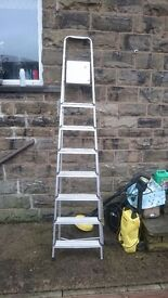Large step ladder