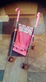Dolls push chair