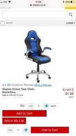 Staples Foroni Task Chair. Brand new - still selling in store.
