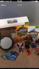 X box 360 Skylanders set