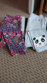 Girls joules leggings for sale