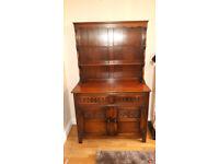 Beautiful traditional dark wood dresser