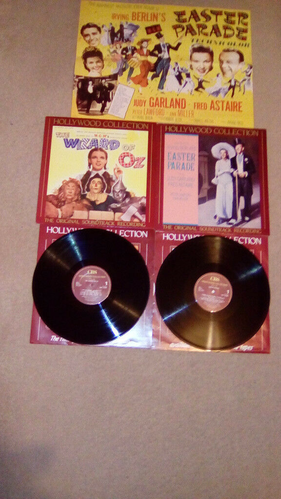 "FOUR ""RARE"" FILM SOUNDTRACK VINYL LP'S-ALL EXCELLENT"