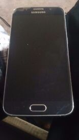 galaxy s6 screen cracked and missing cam lense