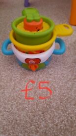 Various baby/toddler toys/items