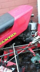 complete petrol engine and some parts for countax tractor
