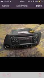 Original ford KA cd radio car stereo