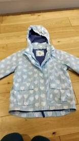 Mini boden girls jacket coat age 7-8 in excellent condition