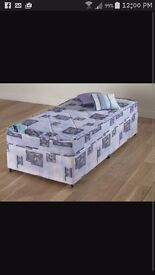 2x divan beds with matresses in wrappers 65 each or both for 120