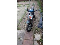 Stomp Pit Bike 90cc scrambler