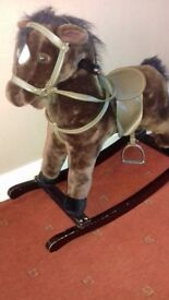Beautiful rocking horse suit age 18m to 3years