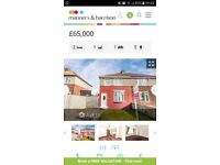 2 bed semi reduced for quick sale
