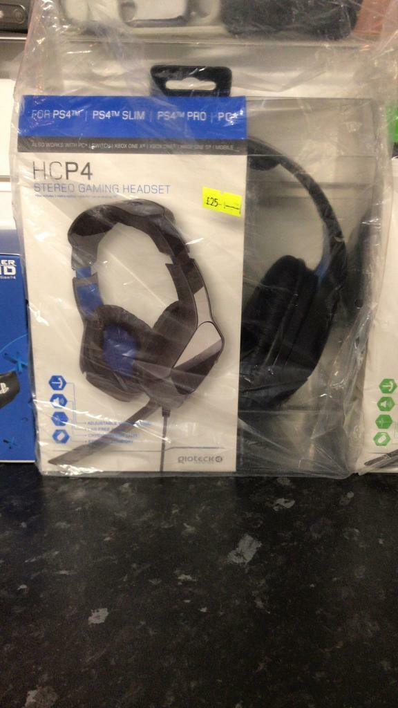 New Ps4 Playstation 4 Gioteck official gaming headset with mic (HCP4) | in Aston, West Midlands | Gumtree